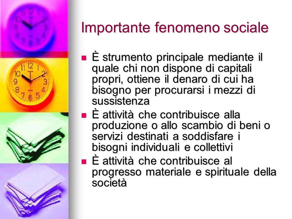 Il lavoro allinizio della COSTITUZIONE ART. 1 COST. ART. 1 COST. LItalia è una Repubblica democratica fondata sul lavoro… ART. 4 COST. ART. 4 COST. La