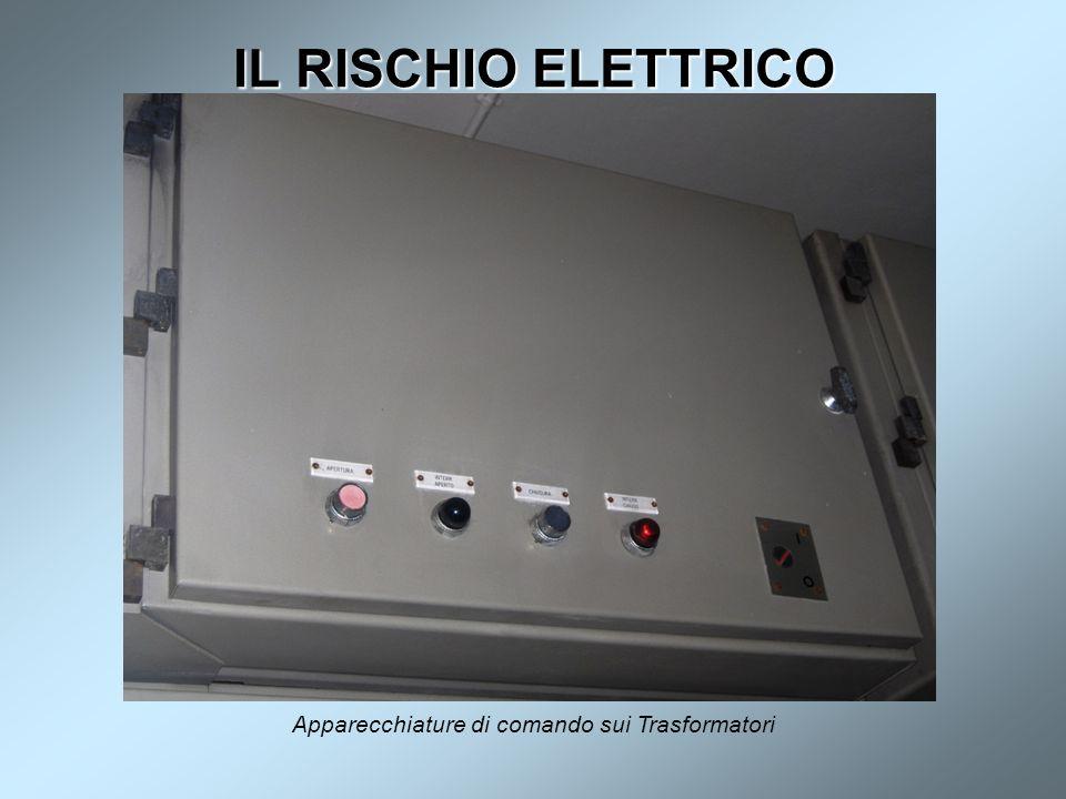 IL RISCHIO ELETTRICO Apparecchiature di comando sui Trasformatori