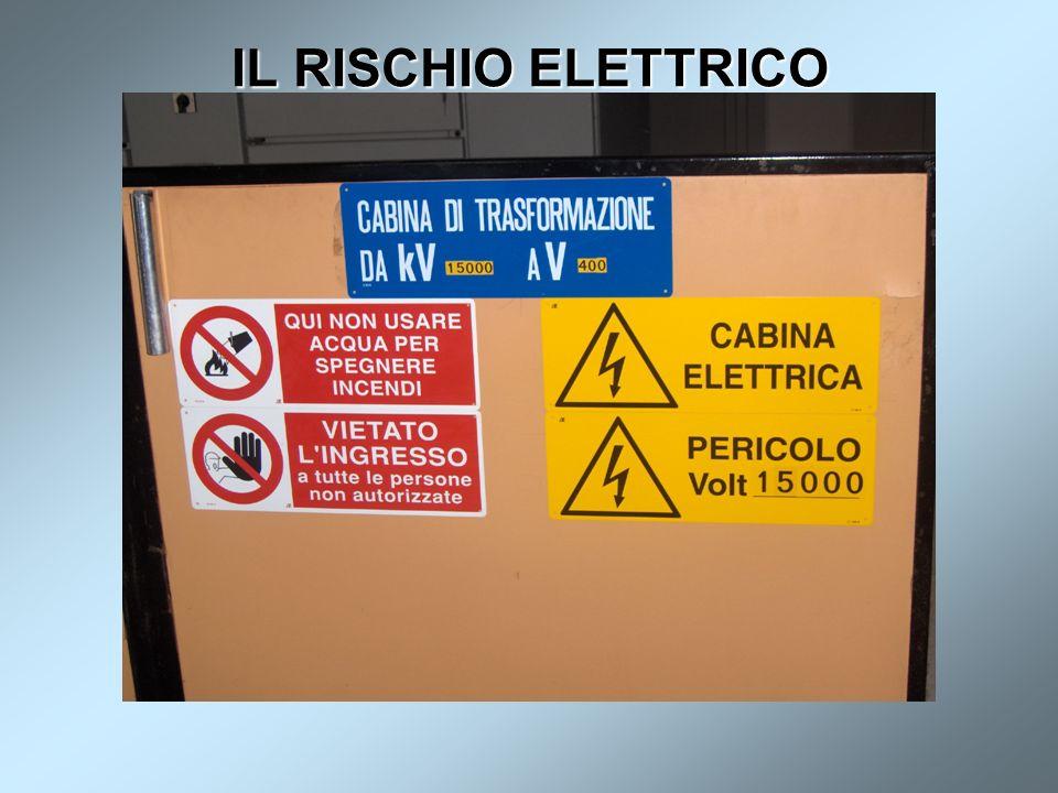 IL RISCHIO ELETTRICO