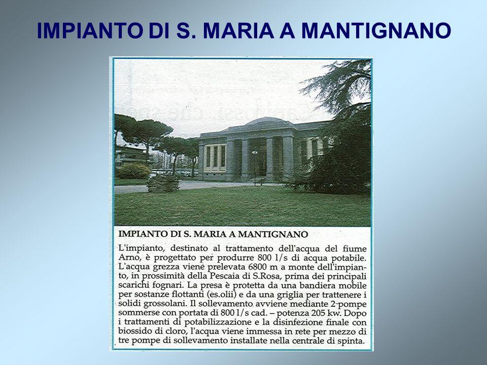 IMPIANTO DI S. MARIA A MANTIGNANO