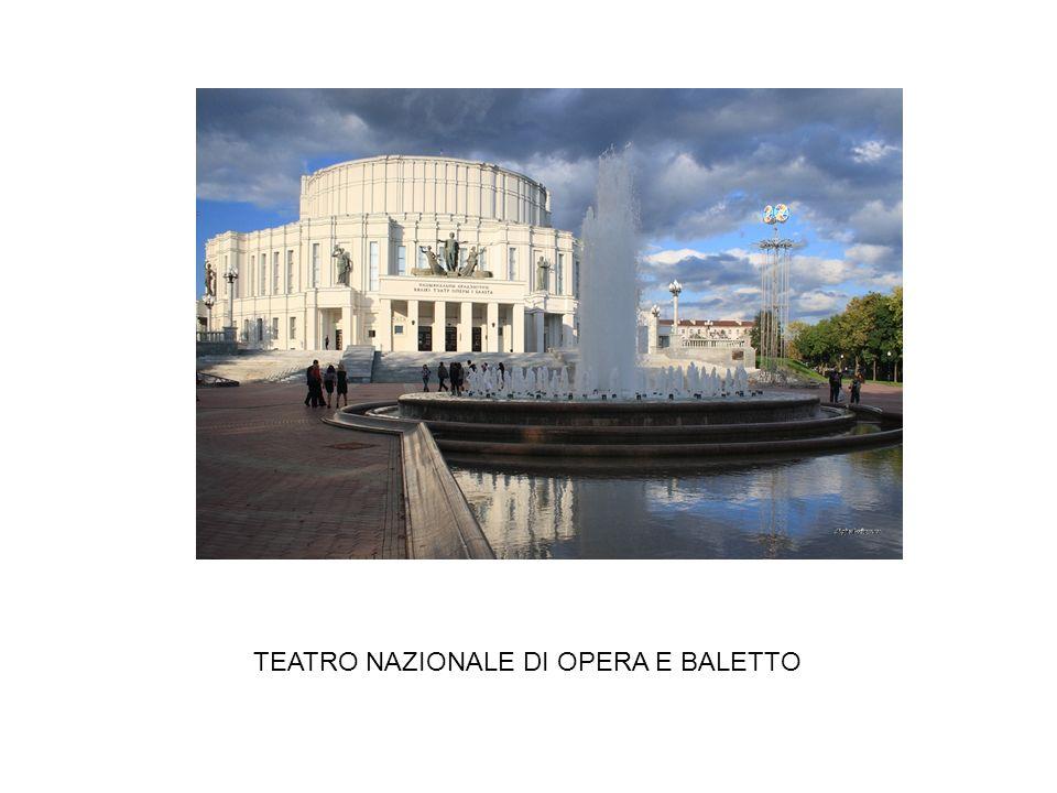 TEATRO NAZIONALE DI OPERA E BALETTO