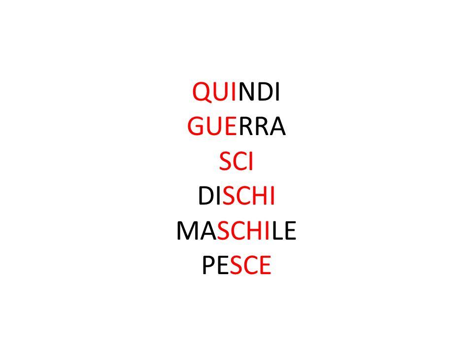 QUINDI GUERRA SCI DISCHI MASCHILE PESCE