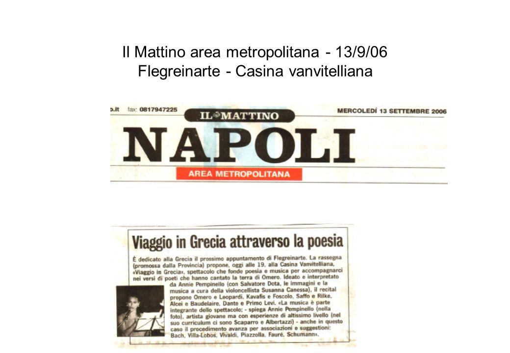 KappaElle format&comunication - 12/9/06 Flegreinarte - Casina vanvitelliana