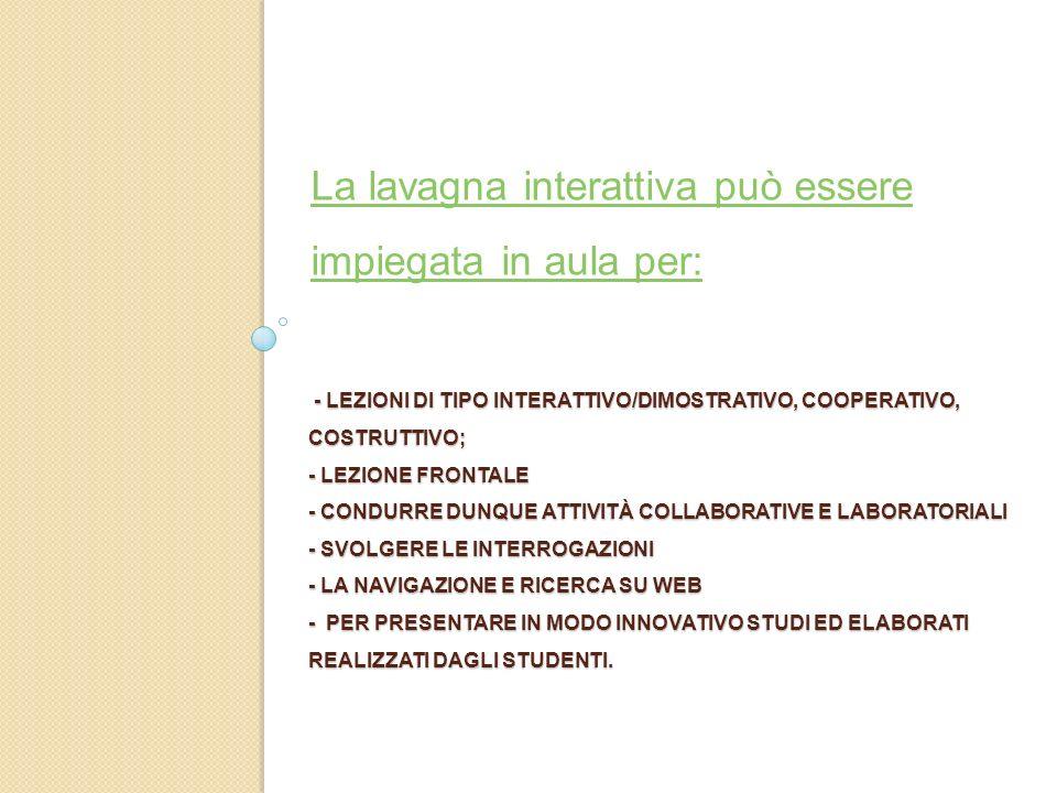- LEZIONI DI TIPO INTERATTIVO/DIMOSTRATIVO, COOPERATIVO, COSTRUTTIVO; - LEZIONE FRONTALE - CONDURRE DUNQUE ATTIVITÀ COLLABORATIVE E LABORATORIALI - SV