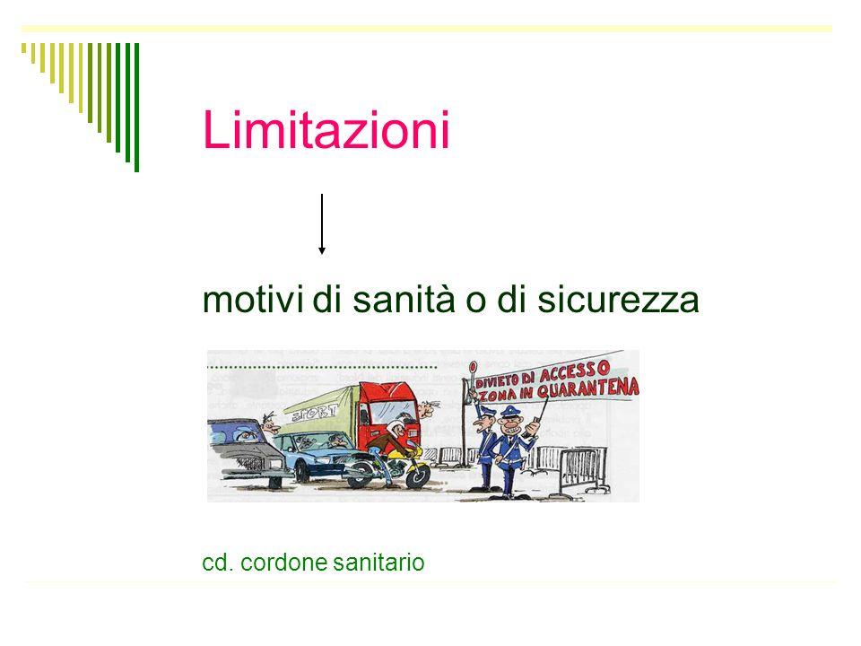 La libertà di circolazione e soggiorno consiste nel diritto di muoversi e di risiedere in qualunque luogo nellambito del territorio italiano La libert