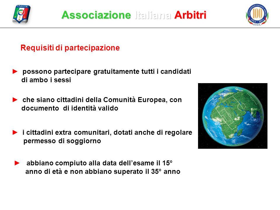 Requisiti di partecipazione possono partecipare gratuitamente tutti i candidati di ambo i sessi che siano cittadini della Comunità Europea, con docume