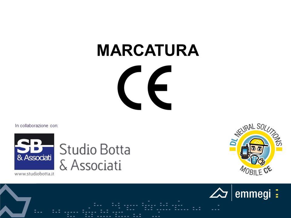MARCATURA In collaborazione con: