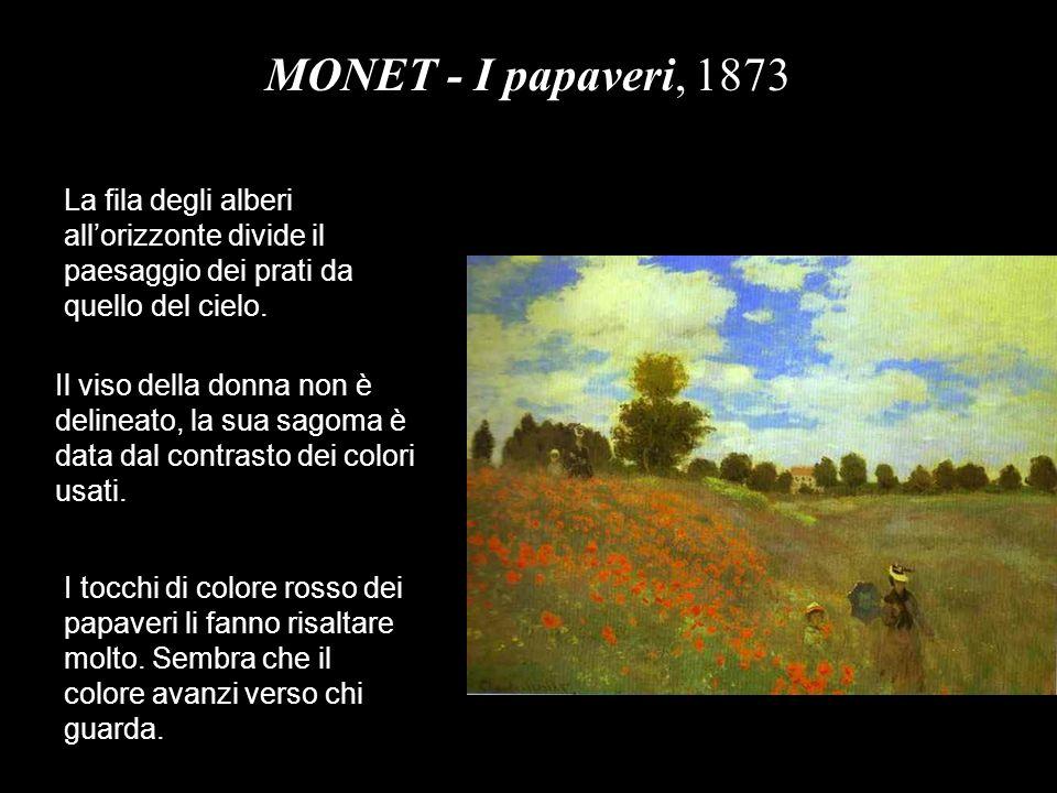 MONET – Le ninfee, 1908 Monet rappresenta soprattutto gli effetti, i riflessi o le luci.