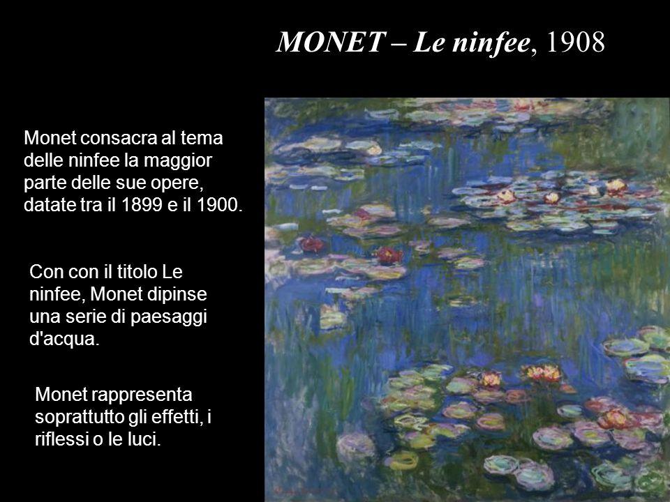 Edouard Manet nasce a Parigi.Viaggia in Germania, Italia, Spagna e Olanda.