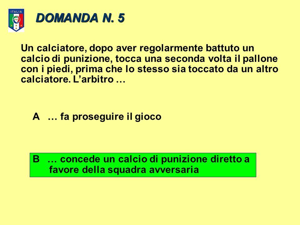 DOMANDA N.