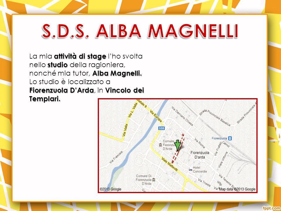 attività di stage studio Alba Magnelli.