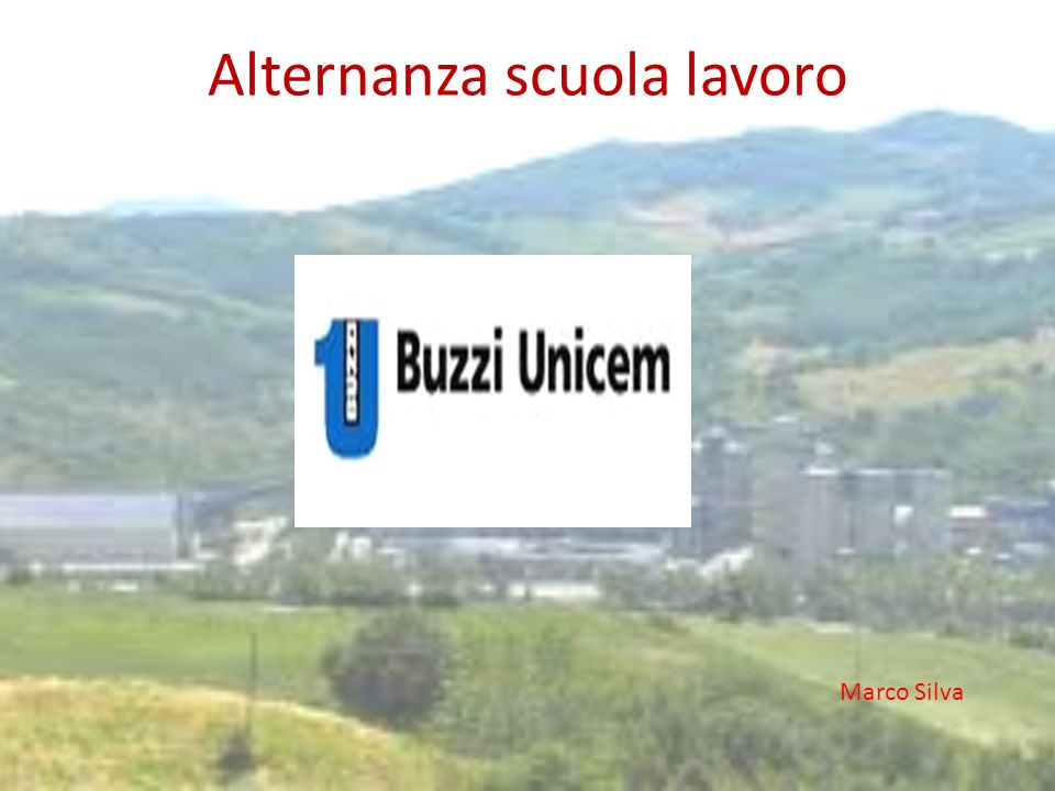 During my experience in Cementi Buzzi Unicem Lugagnano Val Darda, I was with the men of the mechanical workshop.