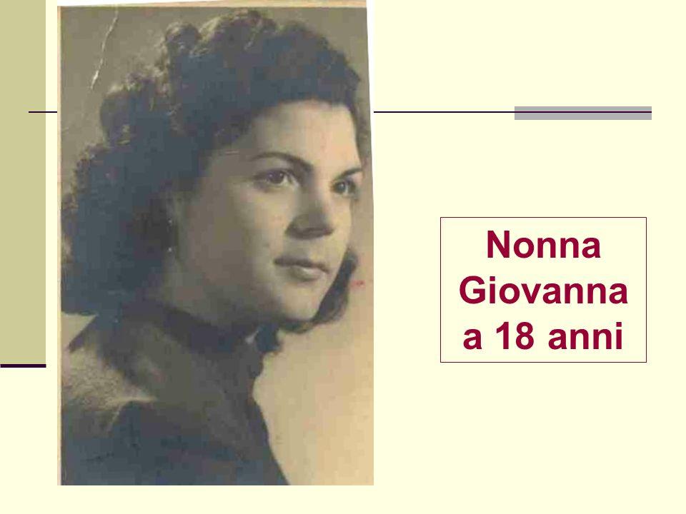 Nonna Giovanna a 18 anni