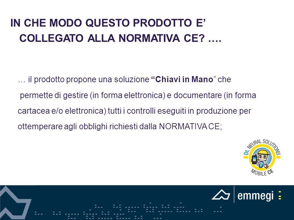 … il prodotto propone una soluzione Chiavi in Mano che permette di gestire (in forma elettronica) e documentare (in forma cartacea e/o elettronica) tu