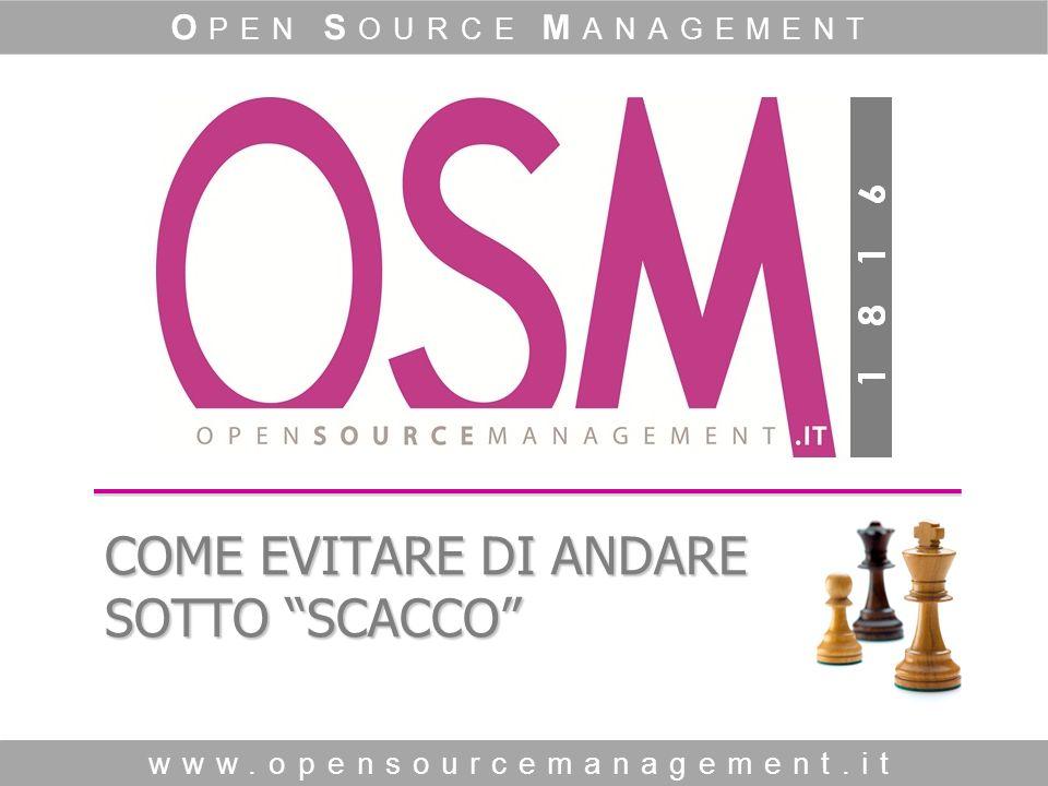 O pen S ource M anagement www.opensourcemanagement.it 16 COME GESTIRE IL 20% DEI NEGATIVI.