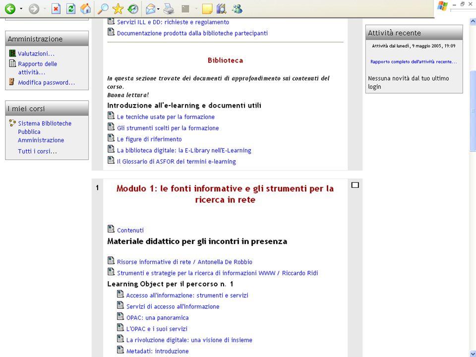 Progetto Sistema Biblioteche Pubblica Amministrazione - SBPA 33