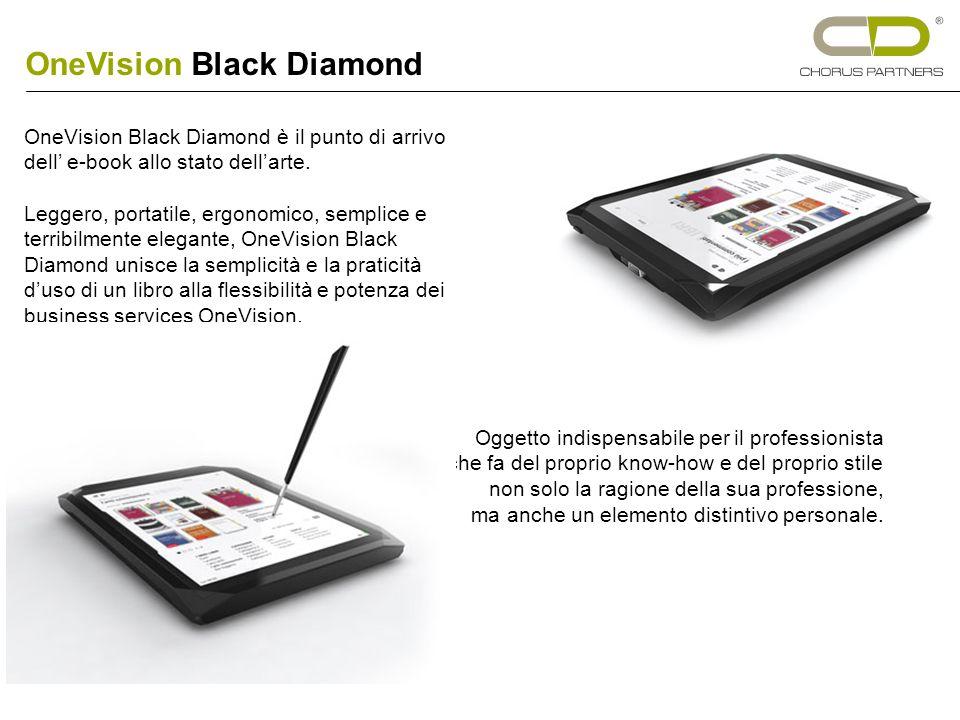 OneVision Black Diamond è il punto di arrivo dell e-book allo stato dellarte.