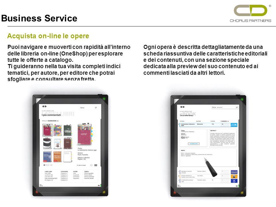 Acquista on-line le opere Puoi navigare e muoverti con rapidità allinterno delle libreria on-line (OneShop) per esplorare tutte le offerte a catalogo.