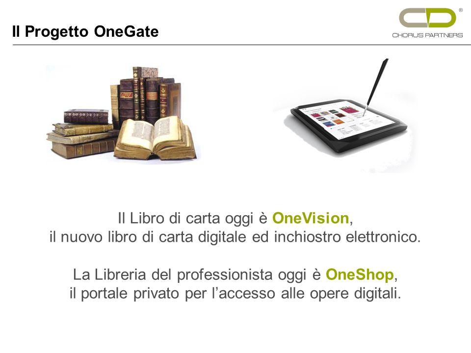 Il Libro di carta oggi è OneVision, il nuovo libro di carta digitale ed inchiostro elettronico.
