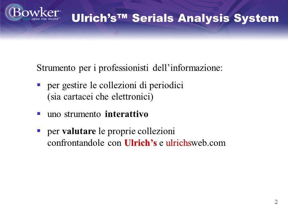 23 Correggere ISSN errati Visualizzo i Titoli non inclusi nel report, per correggerli e ricaricarli