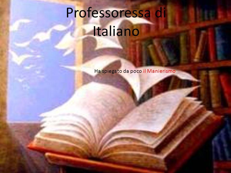 Josef la professoressa di italiano conosce