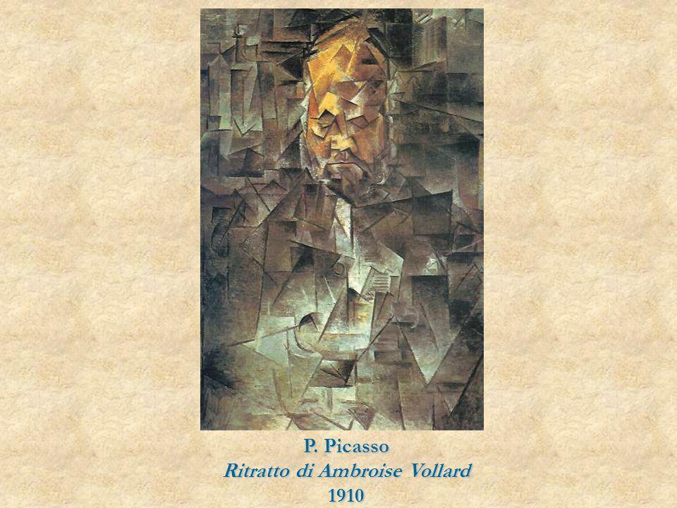 P. Picasso Ritratto di Ambroise Vollard 1910