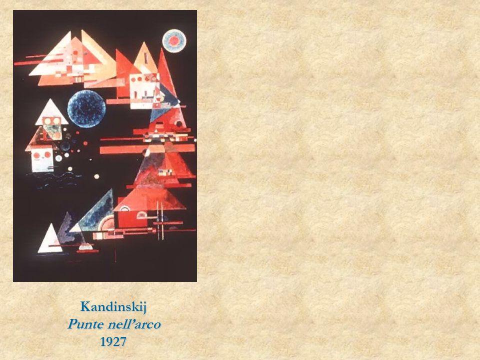 Kandinskij Punte nellarco 1927