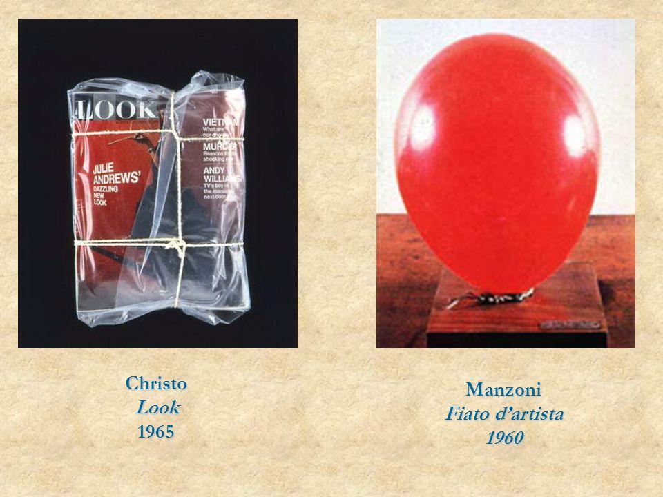 ChristoLook1965 Manzoni Fiato dartista 1960