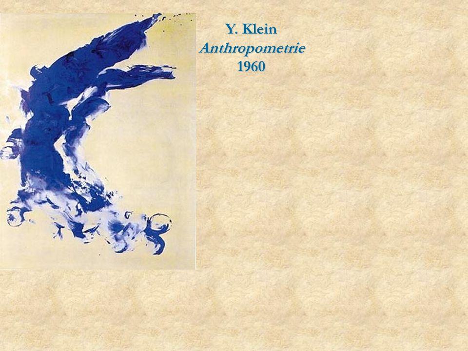 Y. Klein Anthropometrie 1960