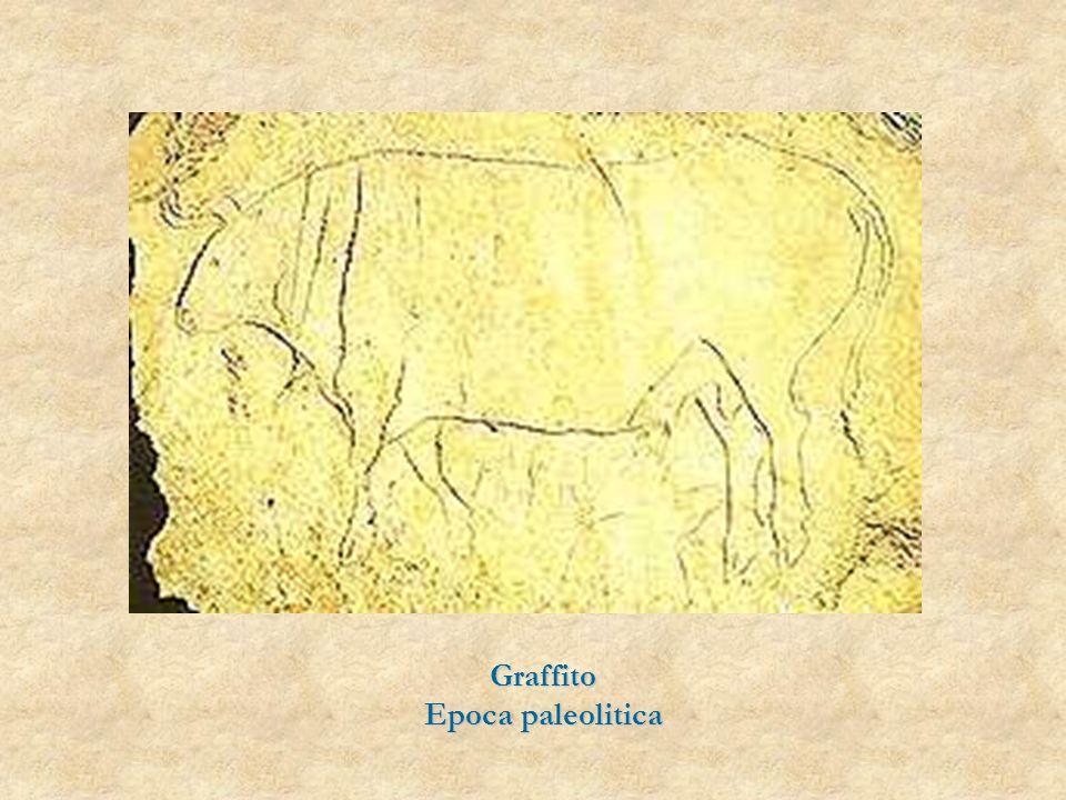 Graffito Epoca paleolitica