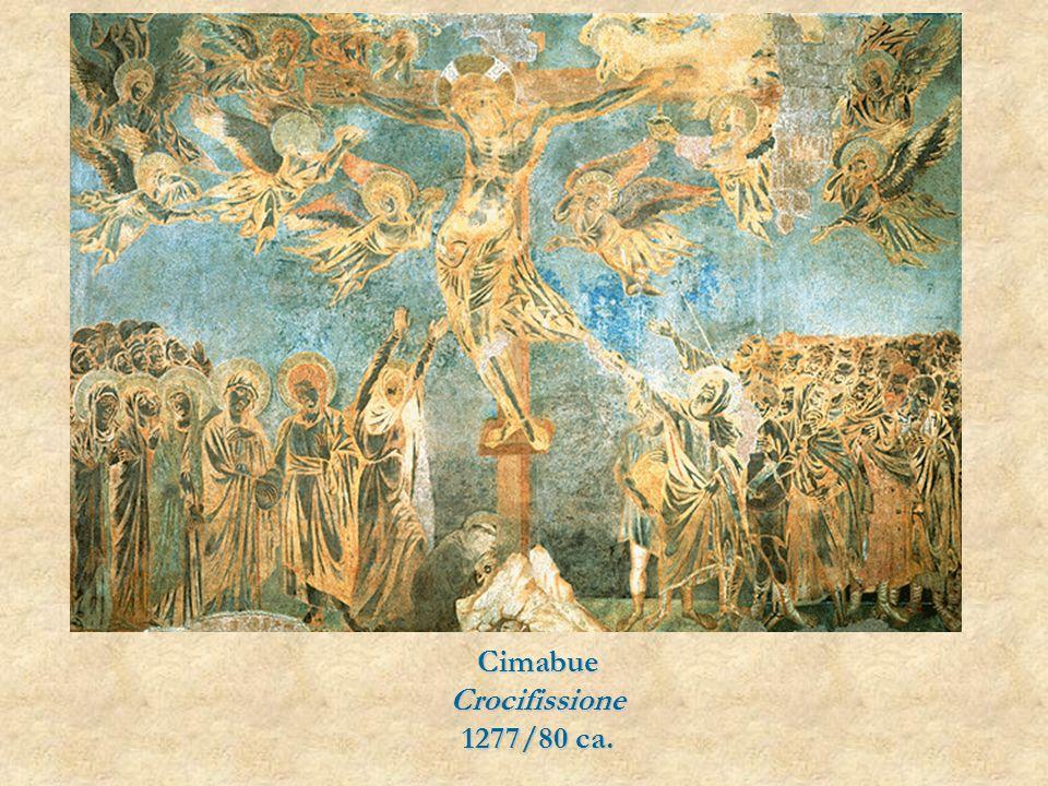 CimabueCrocifissione 1277/80 ca.