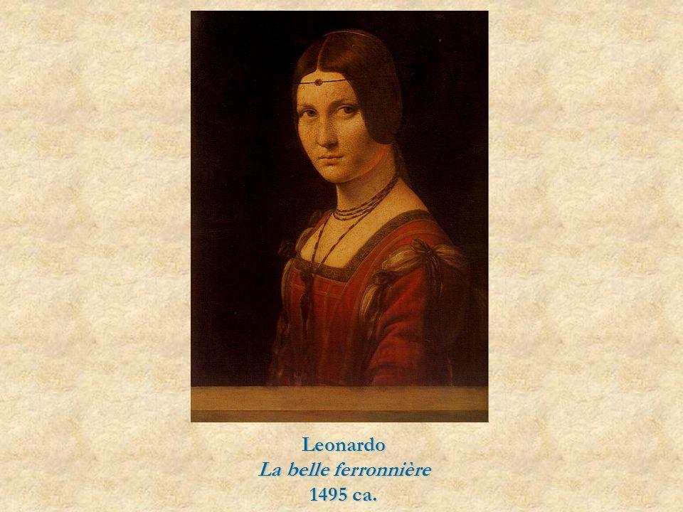 Leonardo La belle ferronnière 1495 ca.