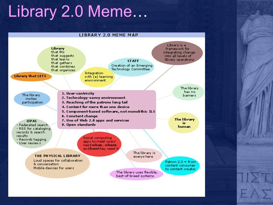 Library 2.0 Meme…