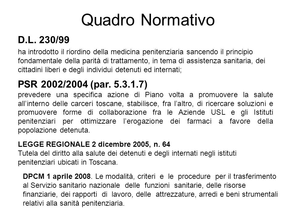 Qualche considerazione sulla prevalenza delle pregresse infezioni TB nel NCP di Sollicciano 2004 - 2009 il 17,9% risultano positivi alla Intradermoreazione secondo Mantoux con PPD 5 U.I.