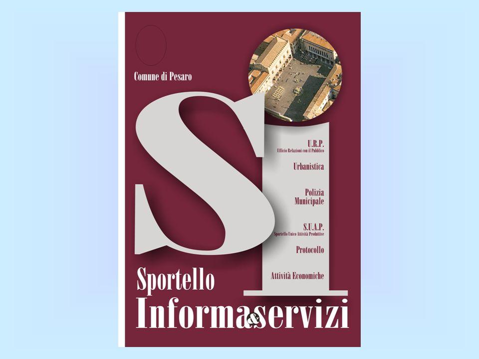 Sportello Informa&servizi Front Office cittadino Back Office Back Office (singoli servizi) Front Office Back Office (singoli servizi) Back Office funzioni Avviare Protocollo informatico e uso F.D.