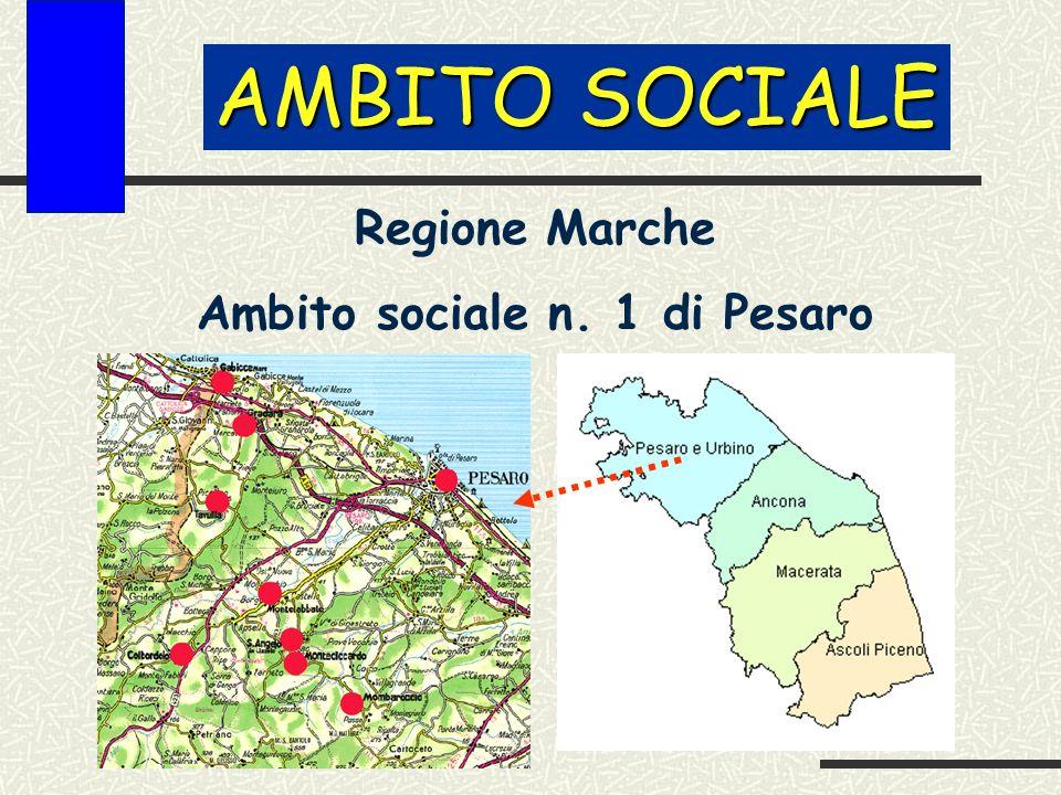 AMBITO SOCIALE Regione Marche Ambito sociale n. 1 di Pesaro