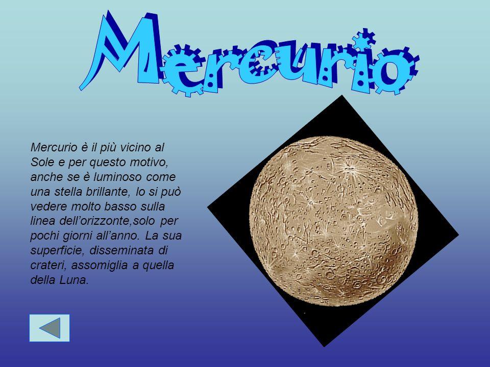 Nettuno,il dio romano dellacqua, rappresenta il pianeta in modo appropriato, visto che è c cc chiamato dagli astronomi il pianeta azzurro.