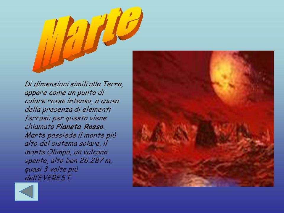 Venere è il 2° pianeta più vicino al Sole.