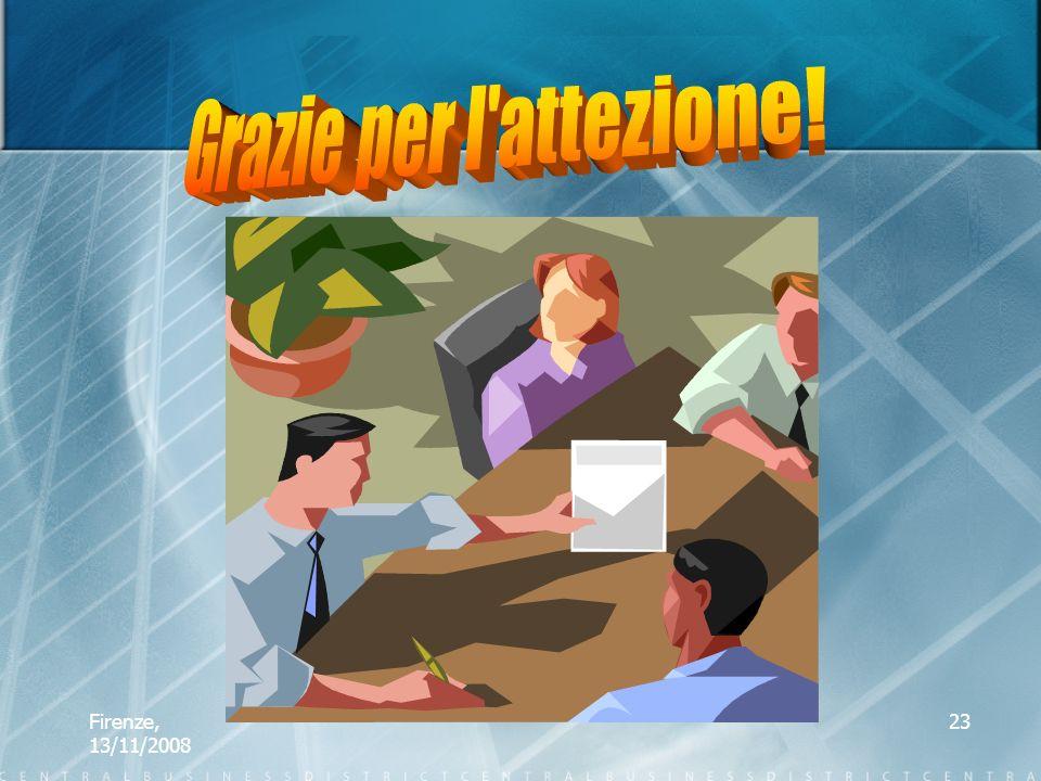 Firenze, 13/11/2008 23