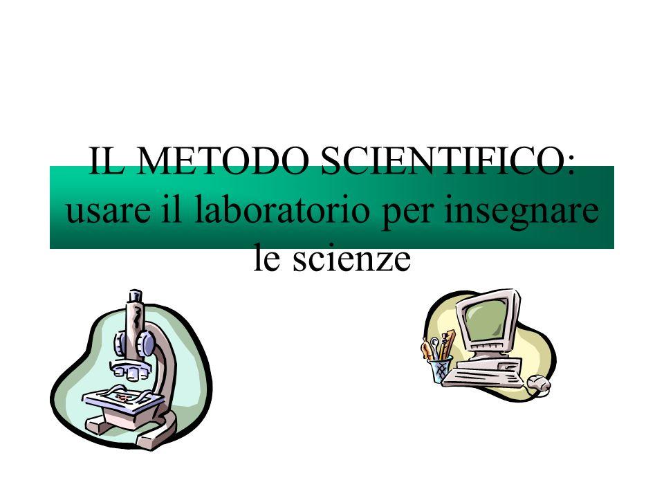 …per insegnare le scienze Stato delle cose Linsegnamento scientifico in Italia, fino ad oggi, non ha mai avuto particolare attenzione.