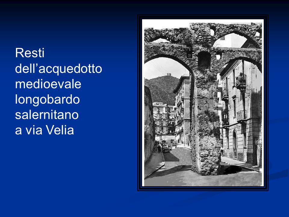 Resti dellacquedotto medioevale longobardo salernitano a via Velia