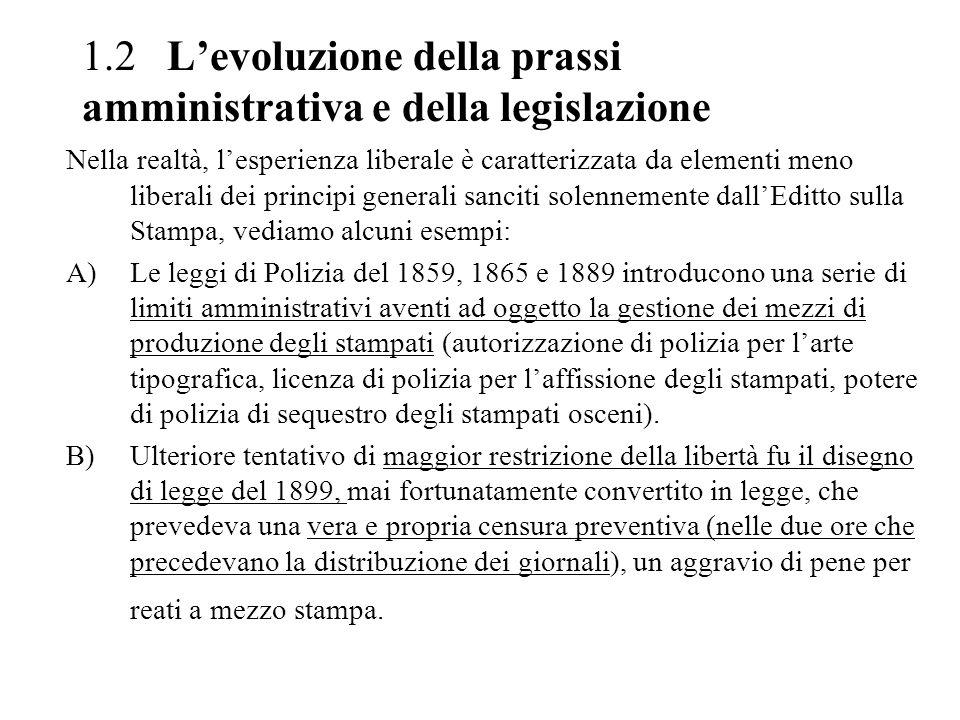 4 LATTUAZIONE DEL DETTATO COSTITUZIONALE: LA LEGGE N.