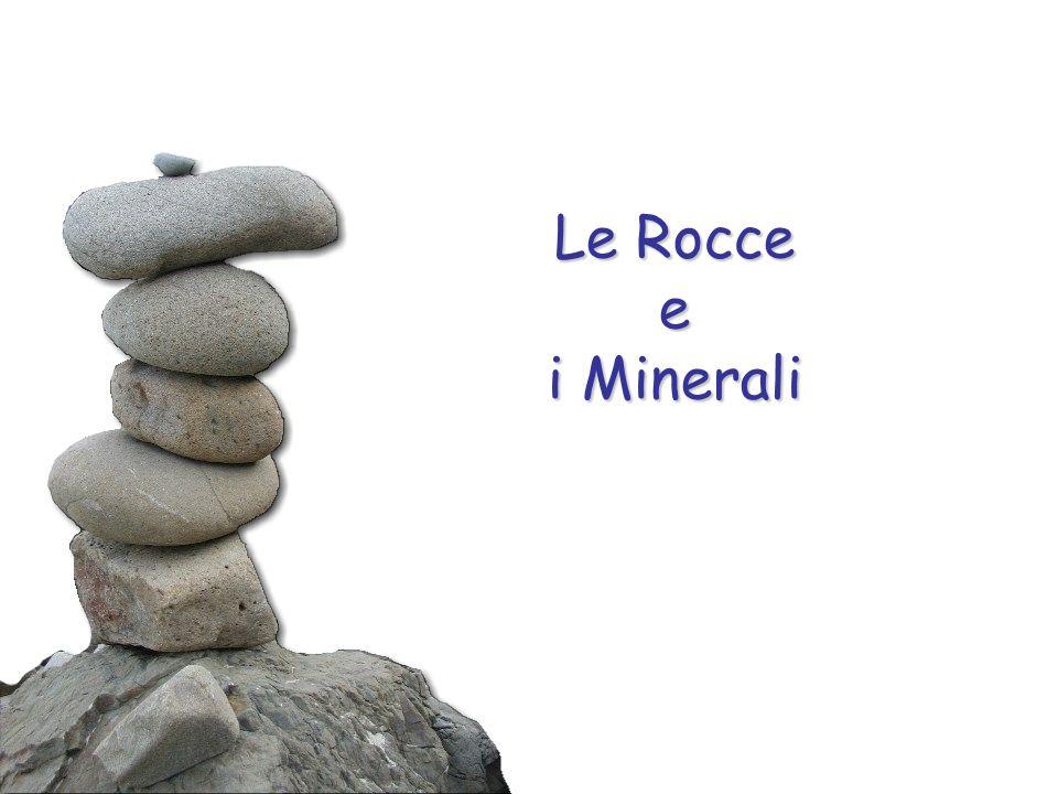 I minerali La densità di un minerale è il rapporto tra la sua massa ed il suo volume.
