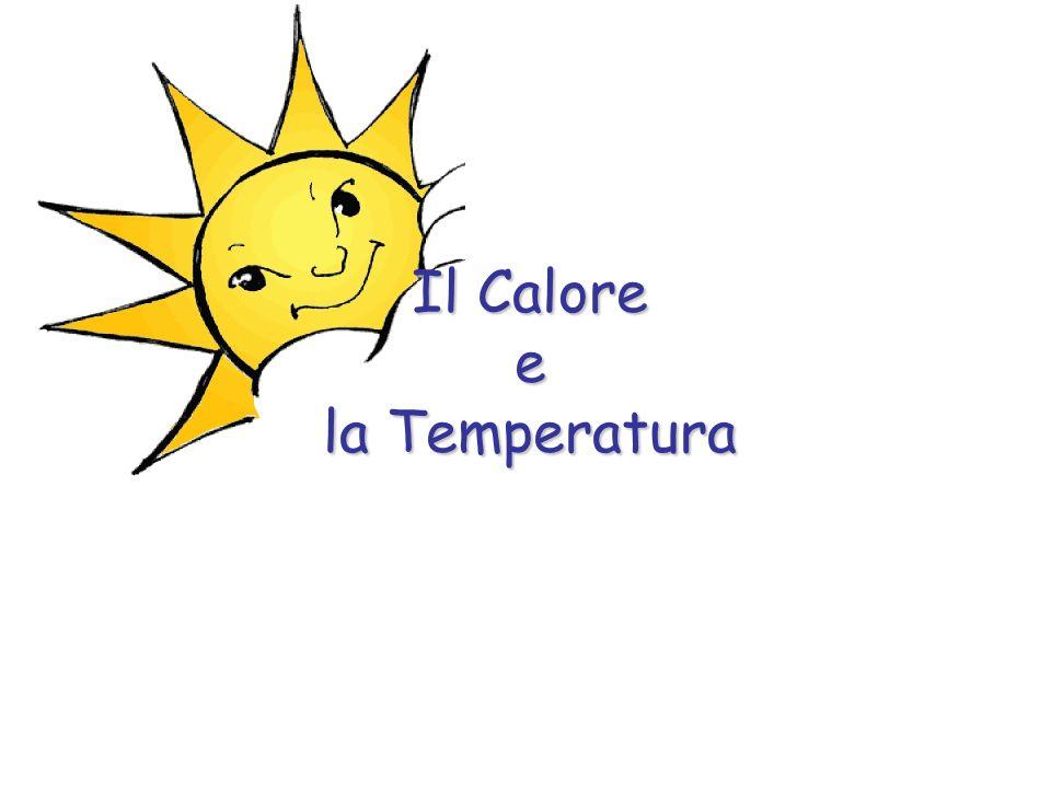 La Temperatura Nel linguaggio comune calore e temperatura sono termini che spesso si confondono.