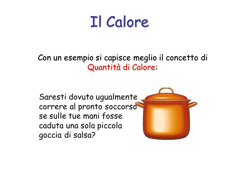 Come mai la stessa salsa, che scotta tutta allo stesso modo, produce effetti così diversi a seconda che essa raggiunga il corpo in grande quantità o in minima quantità?