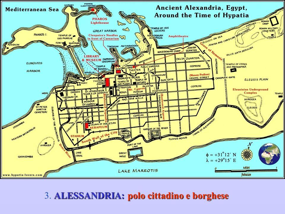 ALESSANDRIA: polo cittadino e borghese 3. ALESSANDRIA: polo cittadino e borghese
