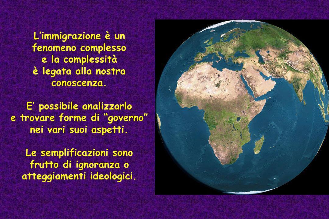 Scenario globale delle migrazioni