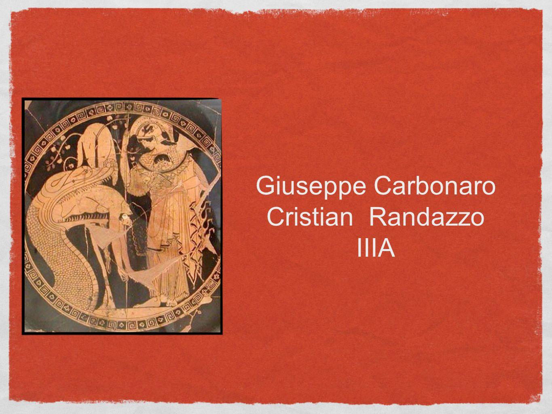 Giuseppe Carbonaro Cristian Randazzo IIIA
