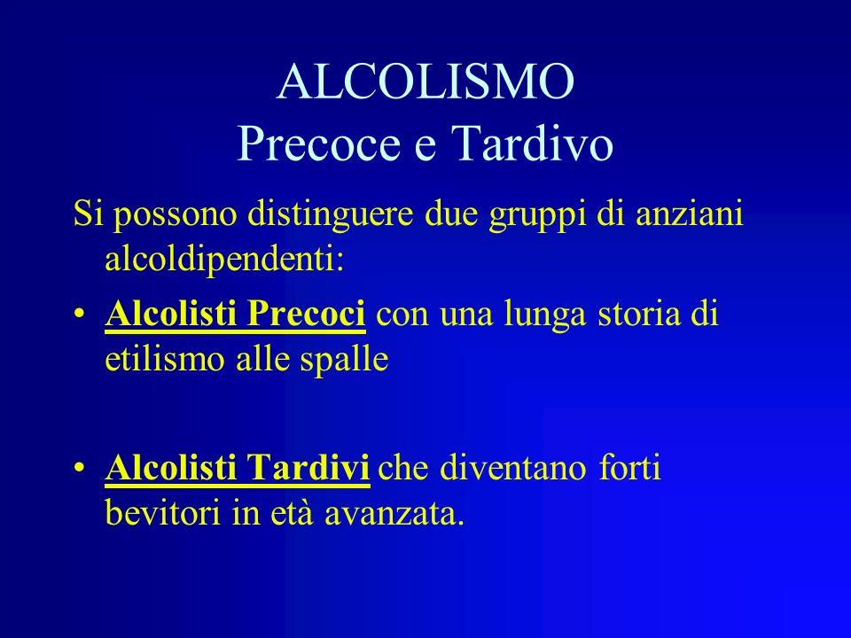 Queste condizioni possono rendere nocive anche quantità modiche di alcool, accelerando ed amplificando gli effetti dellinvecchiamento sulla funzione n