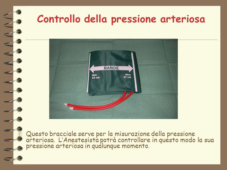 Controllo della pressione arteriosa Questo bracciale serve per la misurazione della pressione arteriosa.